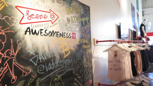 Awesomeness TV is partnering with its YouTube creators to design merchandise.
